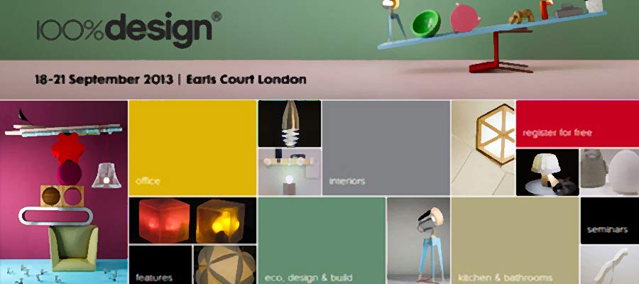 Win VIP tickets to 100% Design London 2013