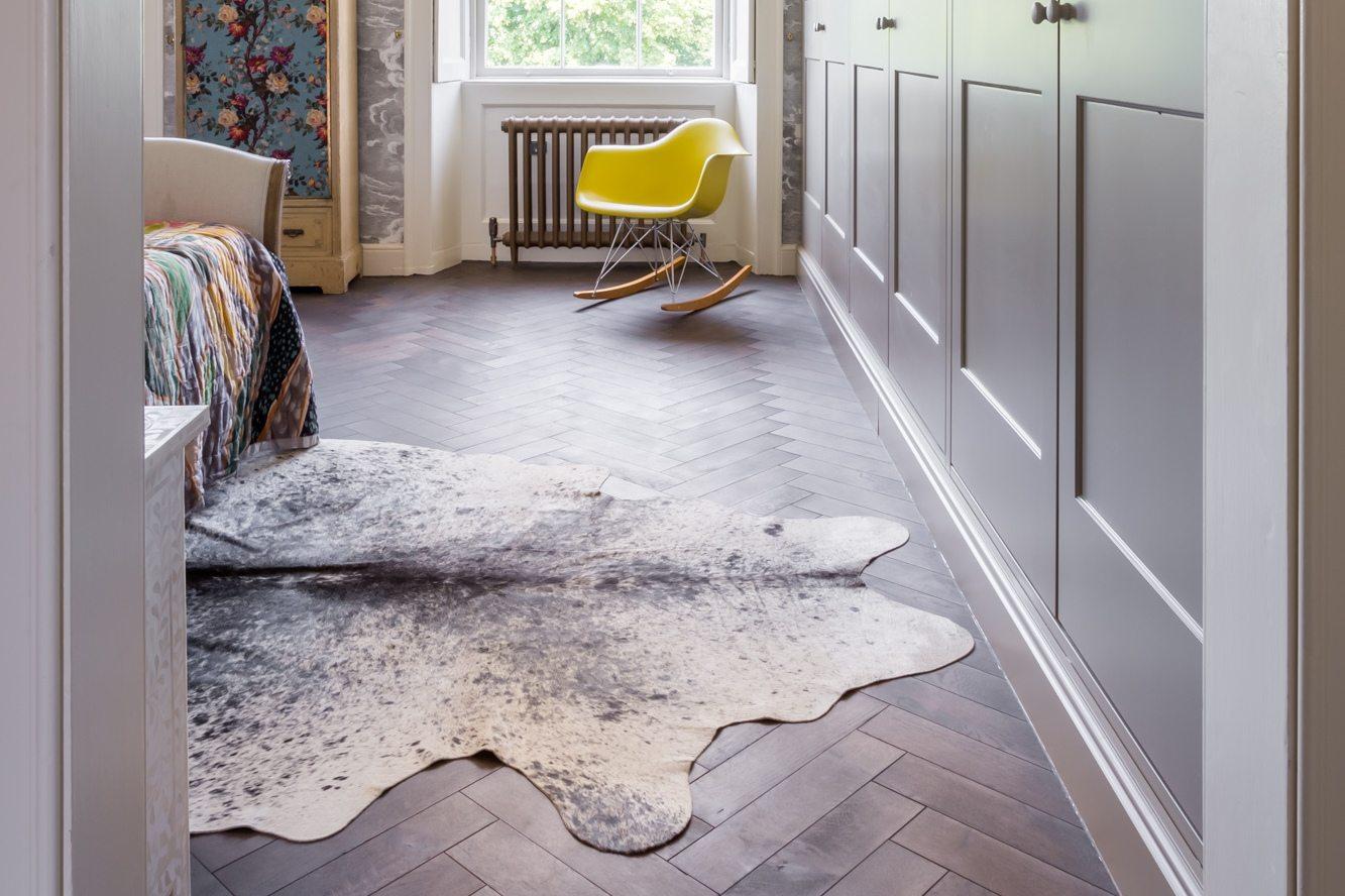Wood flooring in bedrooms  Add wood floor style to bedroom design