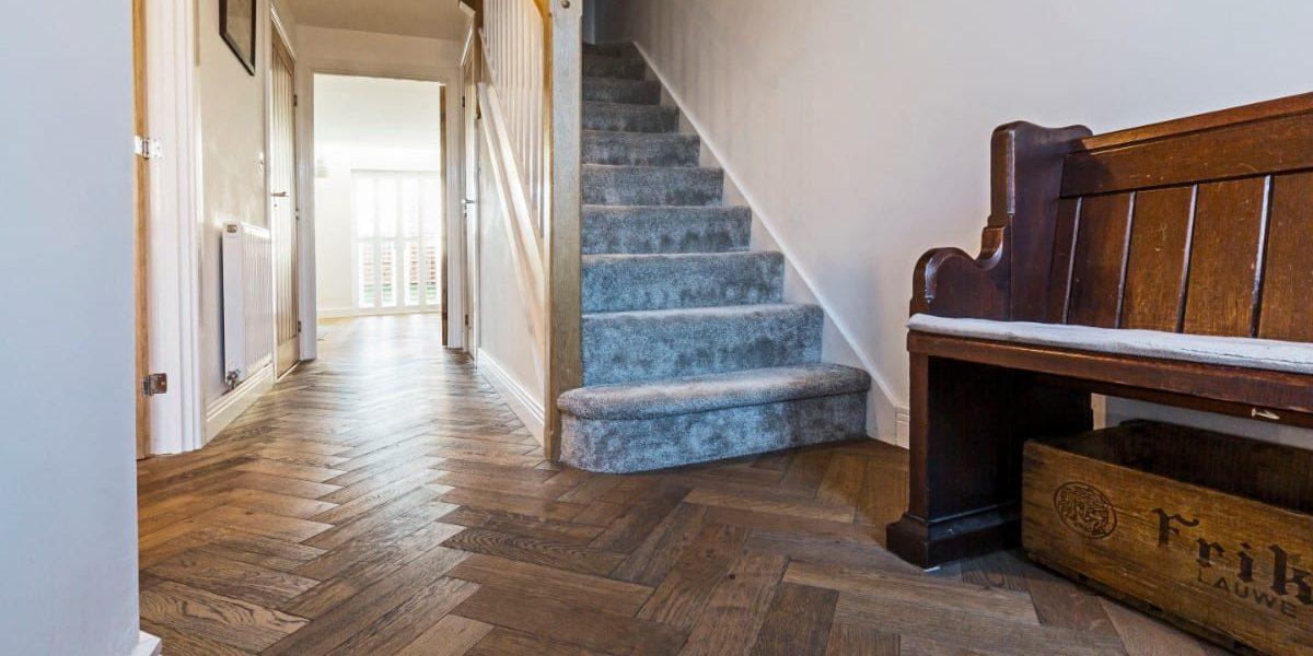zigzag frozen umber oak floors in manchester home 1