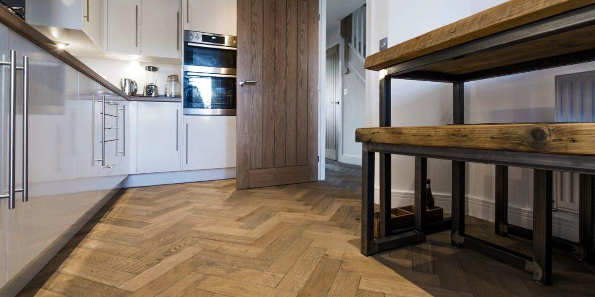 zigzag frozen umber oak floors in manchester home 2