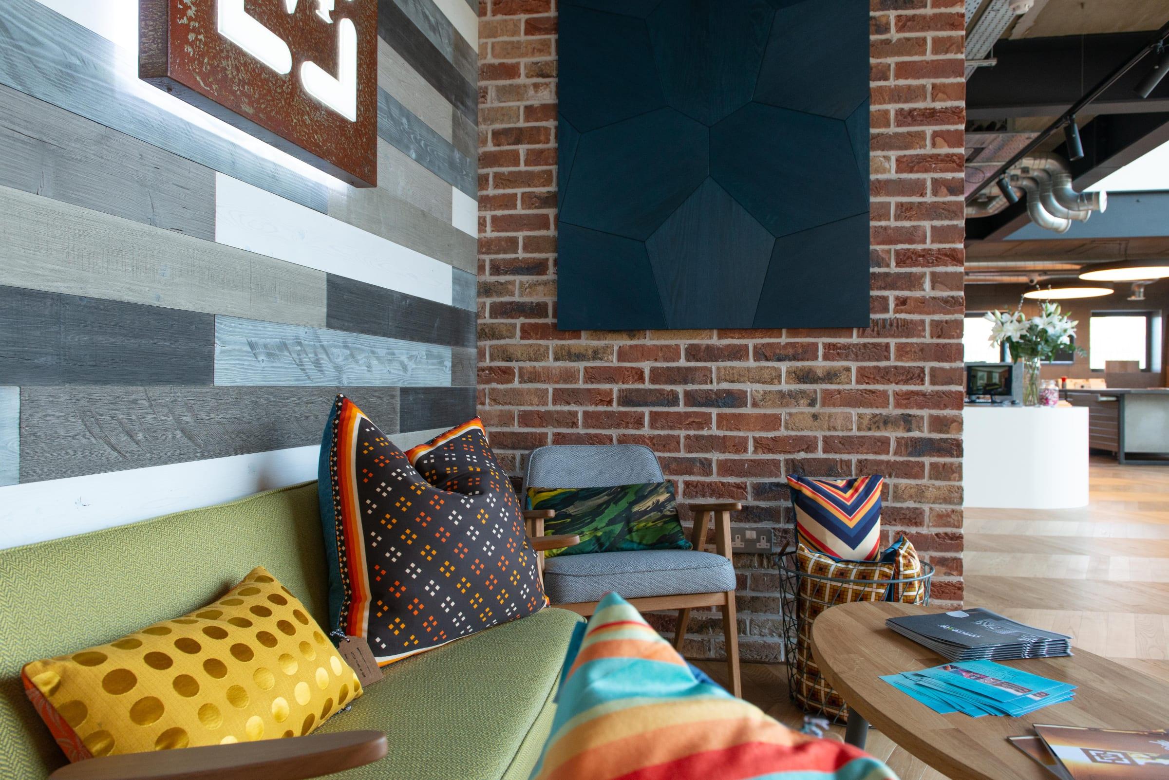 Inside V4 World design centre woking surrey 1