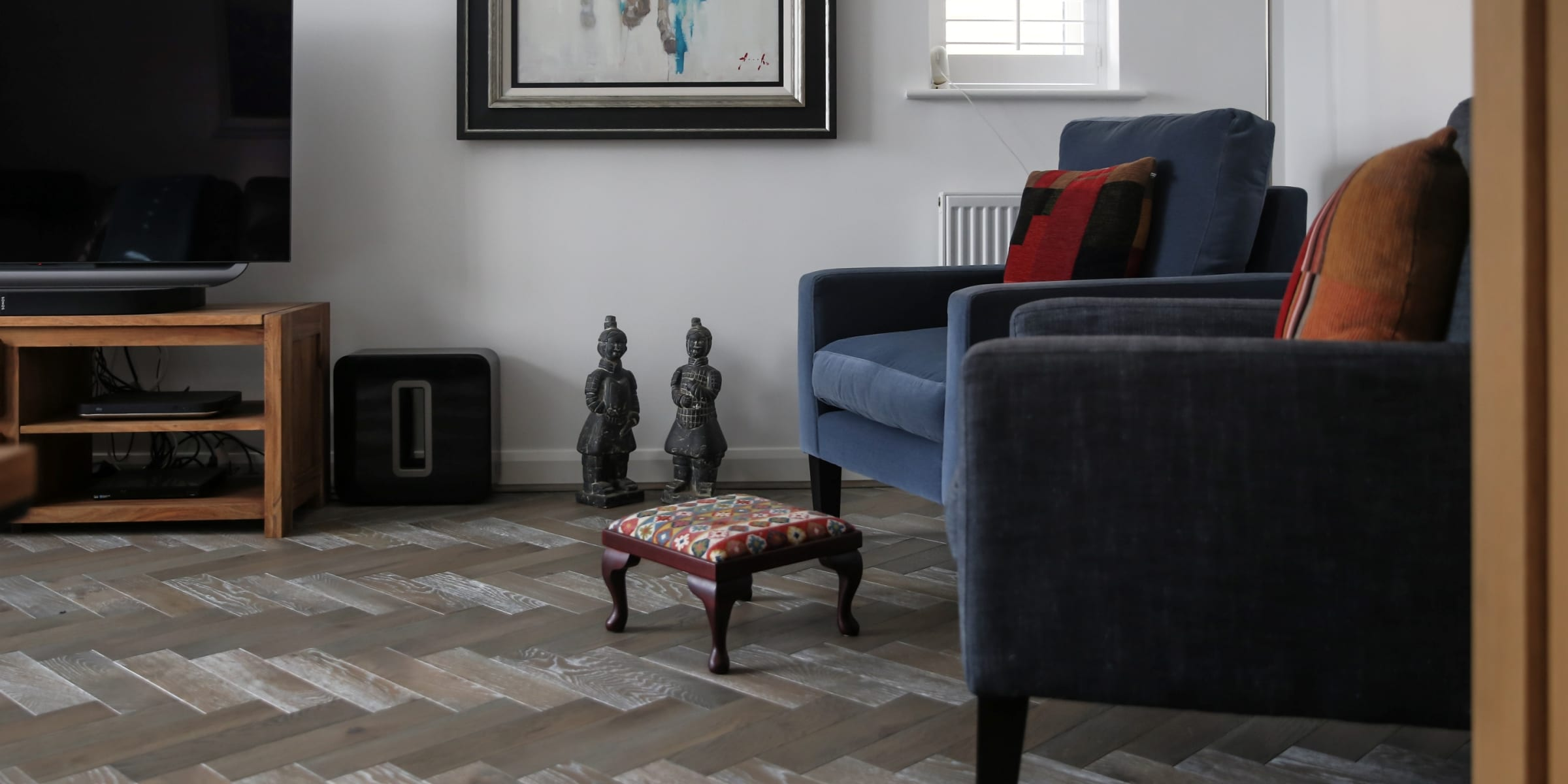 zigzag silver haze in cotswold home 1