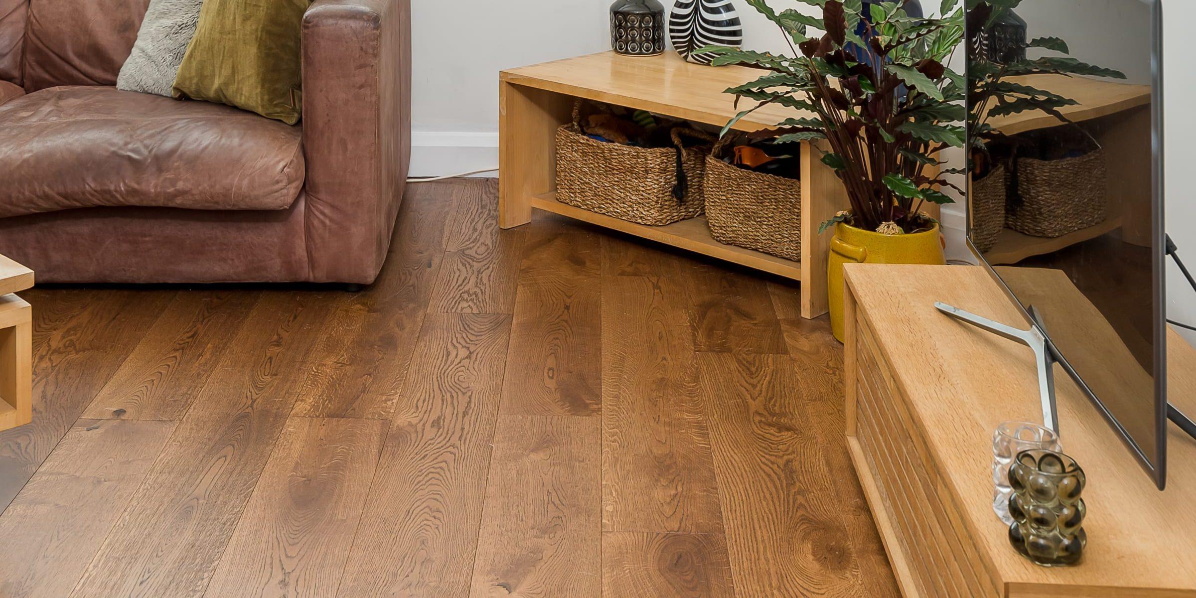 V4's Home Abinger wood floors in Brighton home