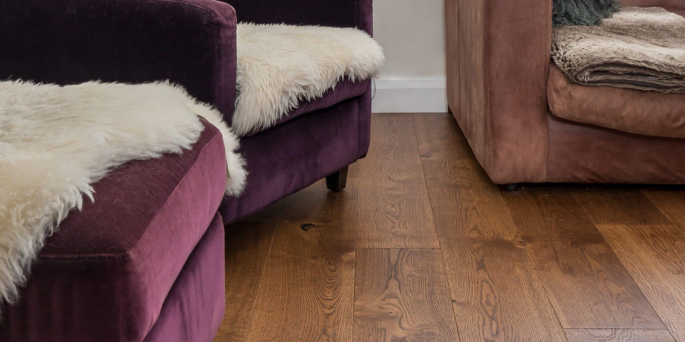 v4 wood floors in Abinger finish