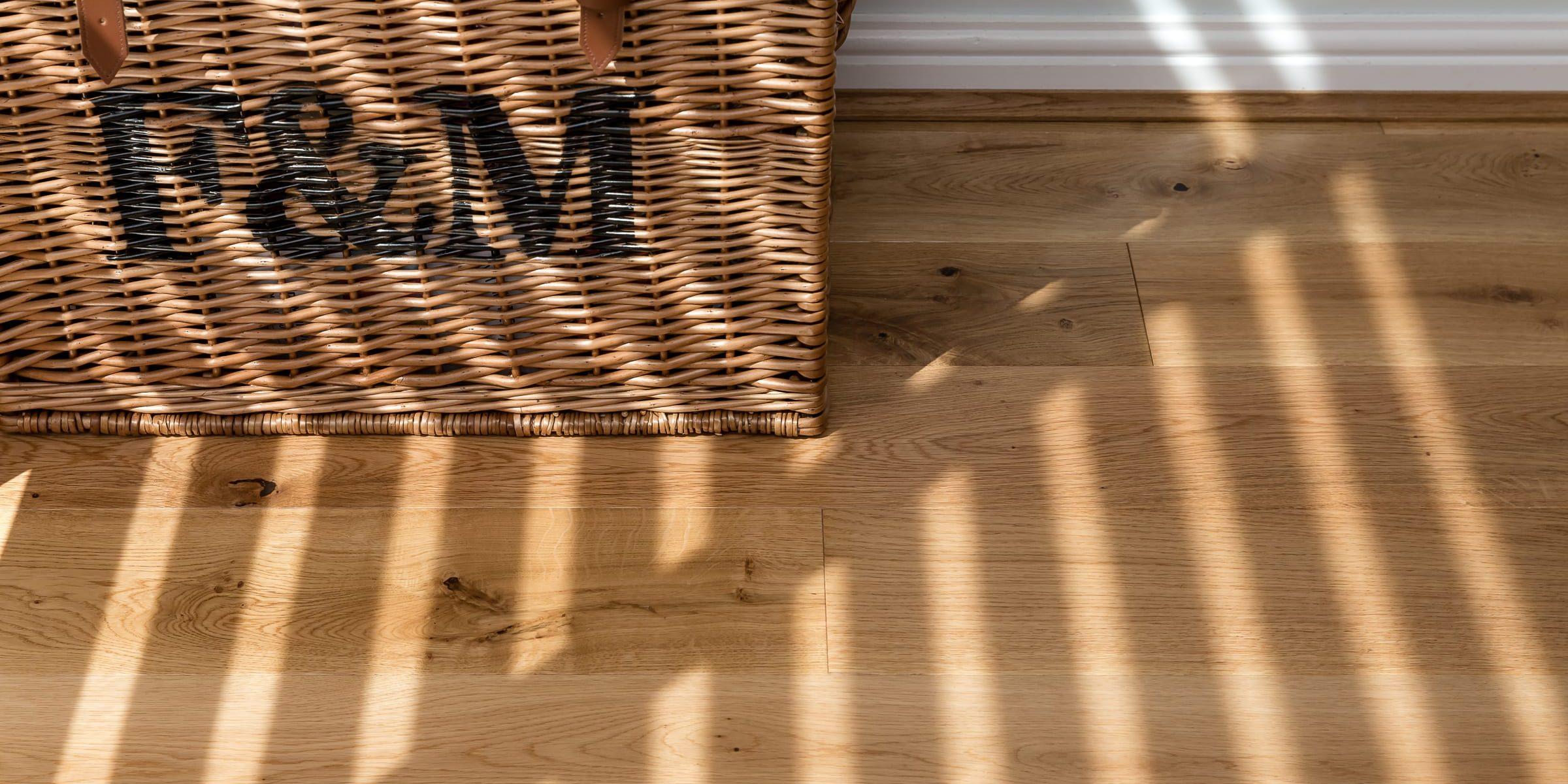 sunshine on alpine wood floors