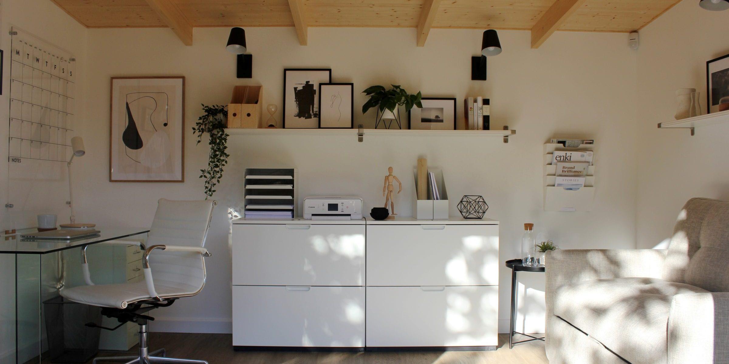 scandi design home office