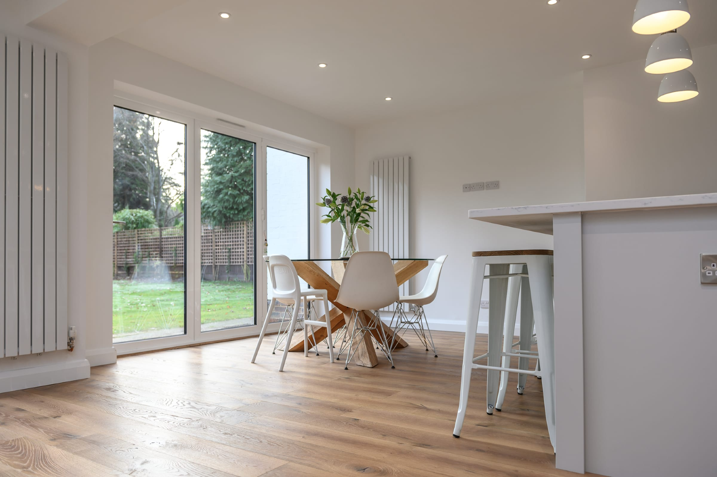 surrey home with V4 wood floors