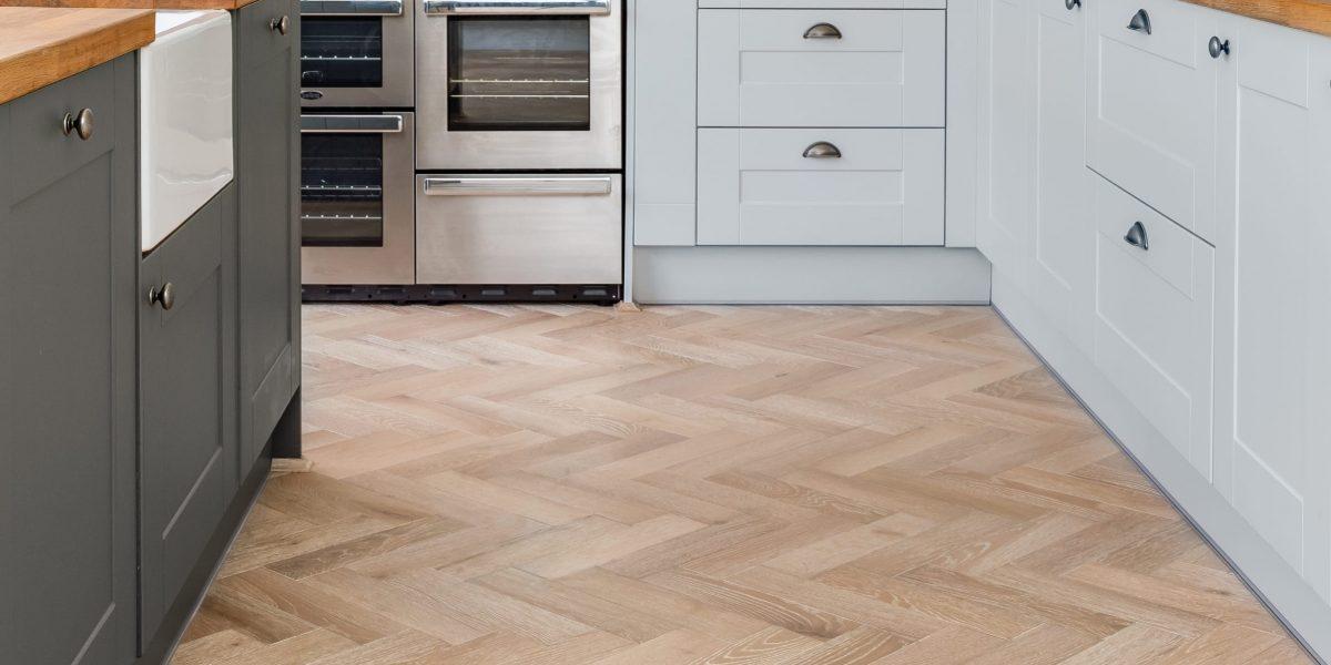 zigzag nordic beach in kitchen design