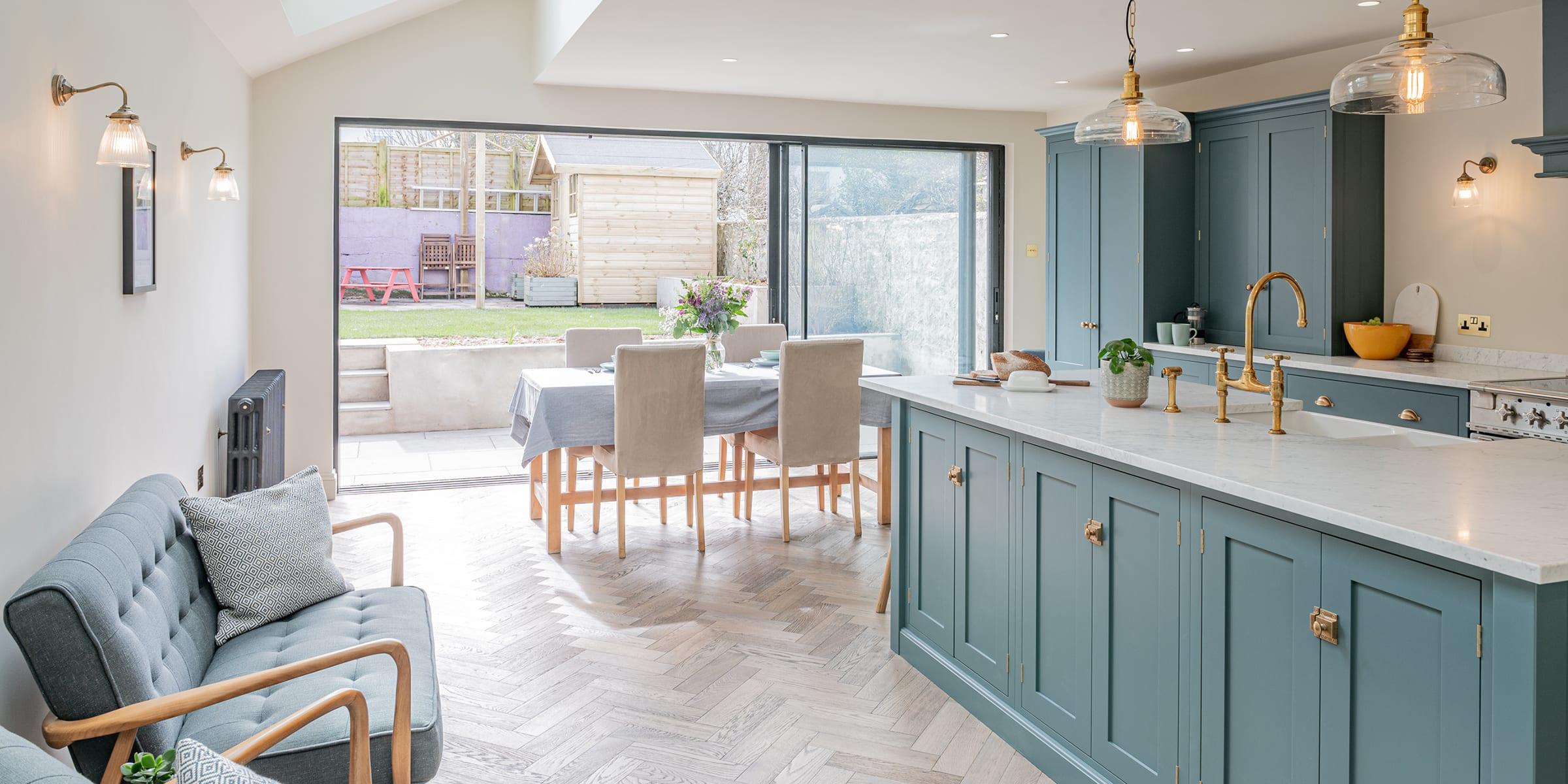 brighton kitchen with zigzag frozen umber