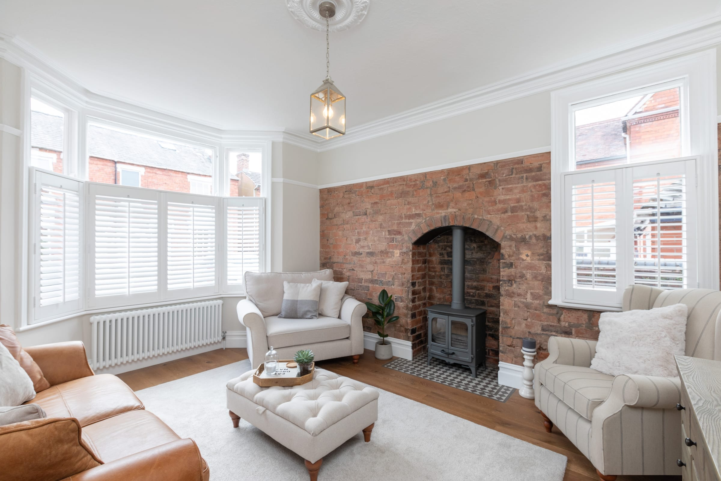 urban nature fired brick in stourbridge living room