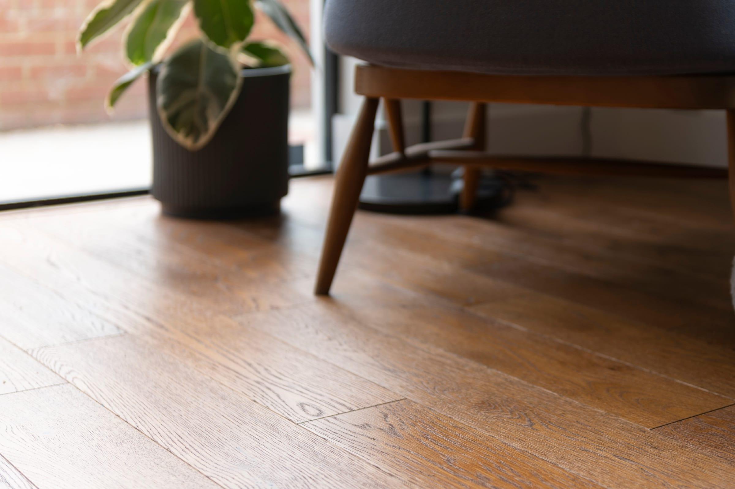 golden wood floors
