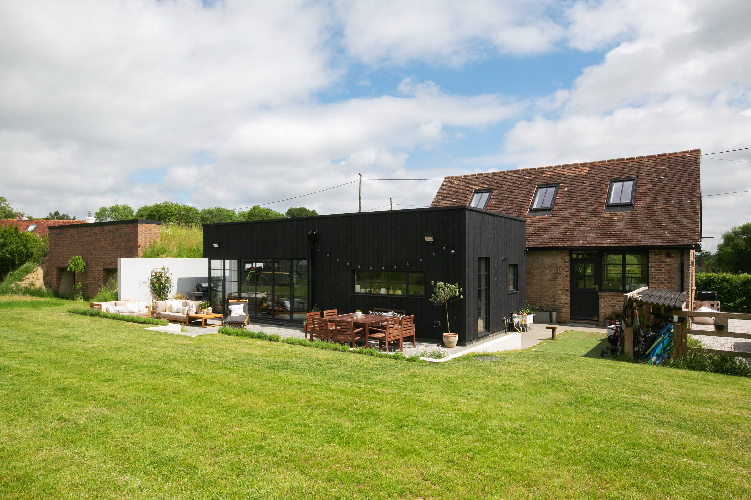 timber clad extension