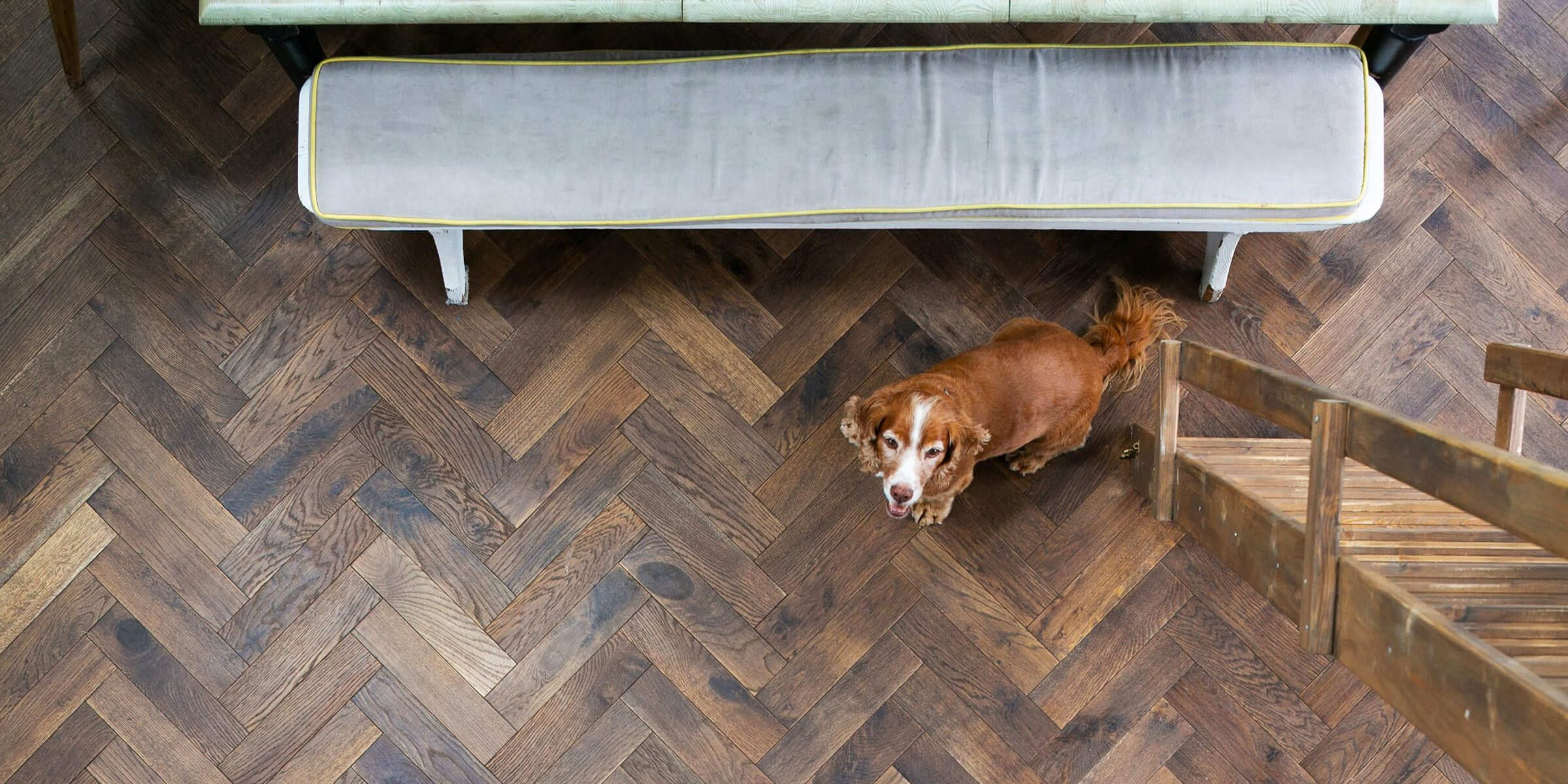 rustic tannery brown wood floors